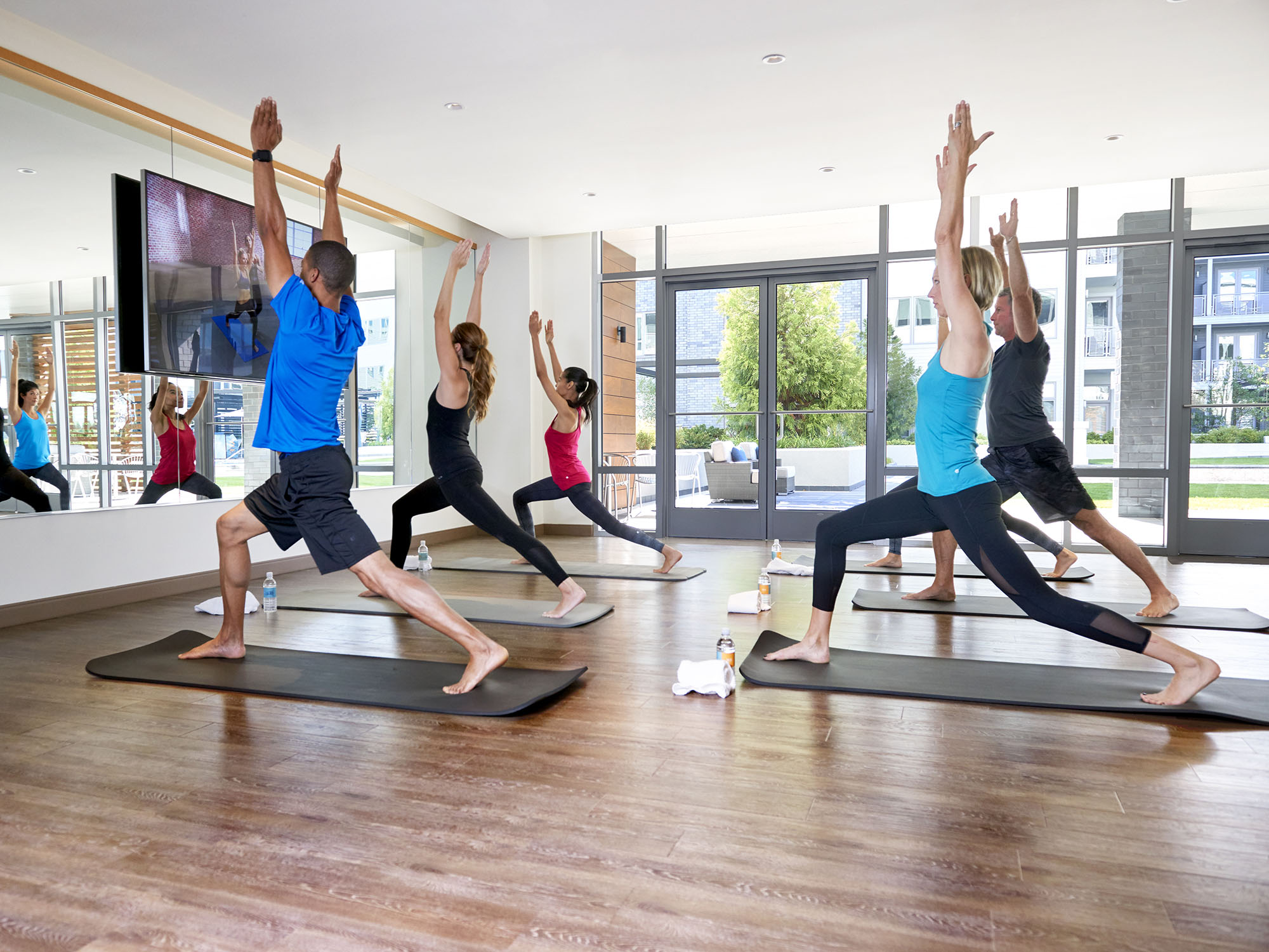fitness classes on-site