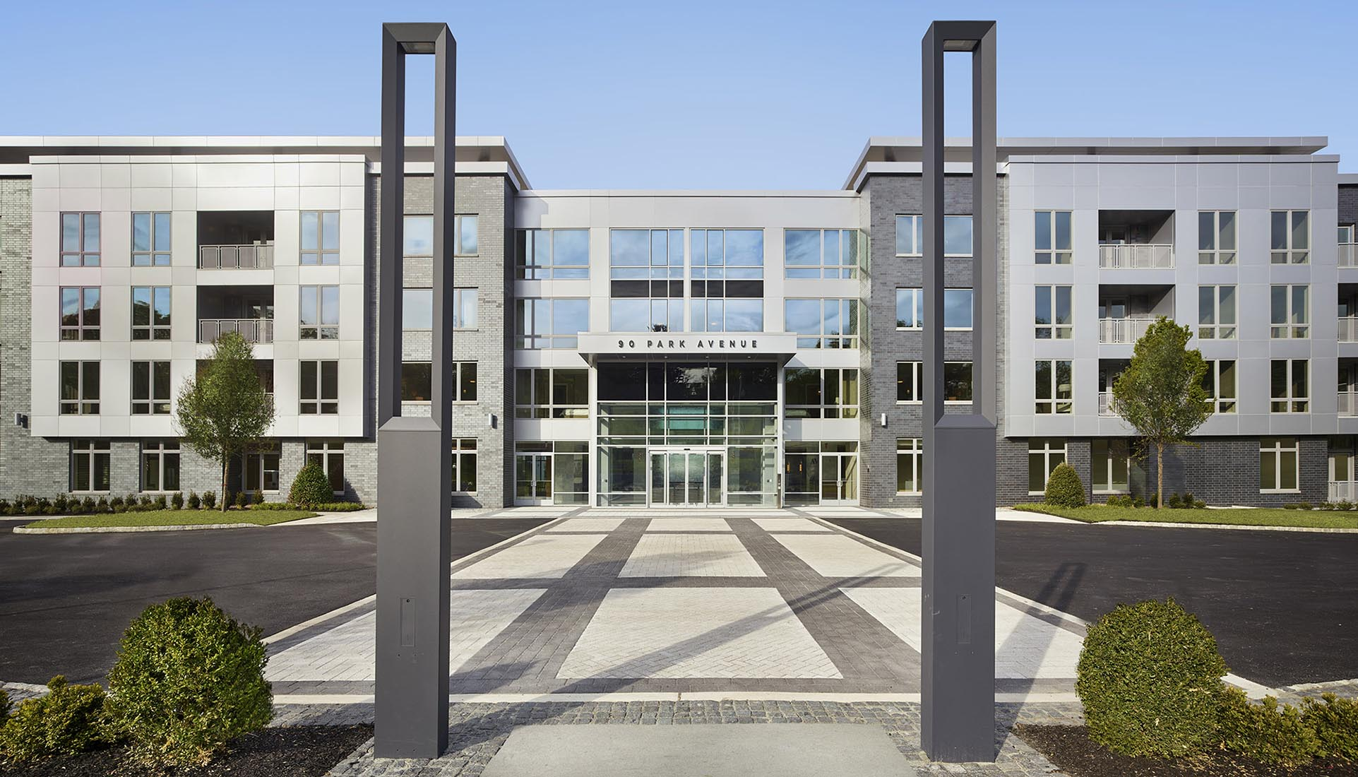 AVE Florham Park exterior facade during the day