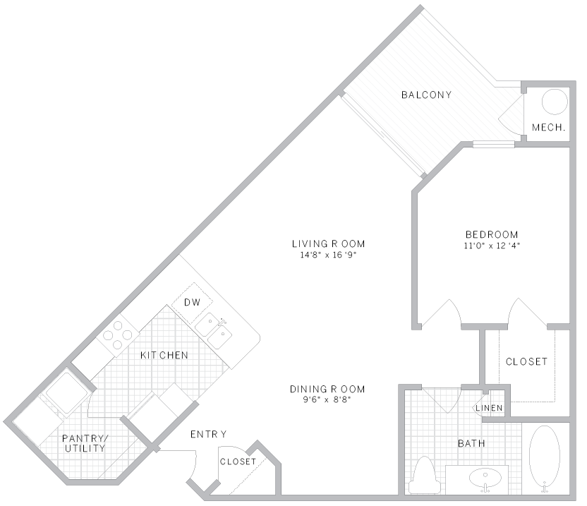 AVE Union Apartments: 1- & 2-Bedroom Apartments for Rent in NJ