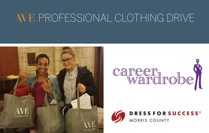 AVE Professional Clothing Drive
