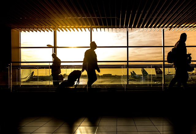 airport silhoutte