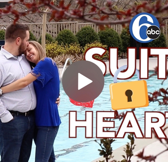 6abc Action News talks to AVE Malvern residents Alex Miller and Nick Anshant about their love story