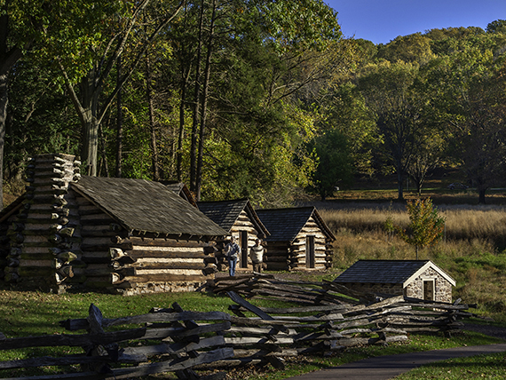 Valley Forge National Historical Park in King of Prussia, PA
