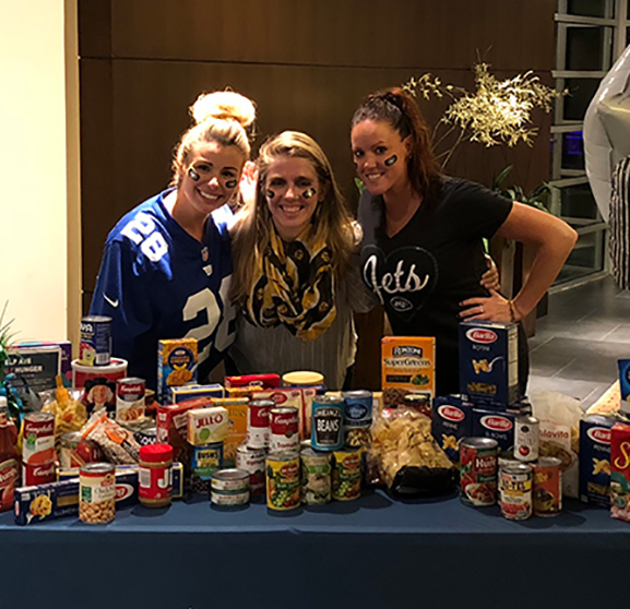 AVE Hosts Tailgate Drives to Tackle Hunger