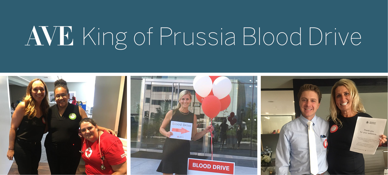 AVE King of Prussia Hosts Blood Drive to Support Red Cross