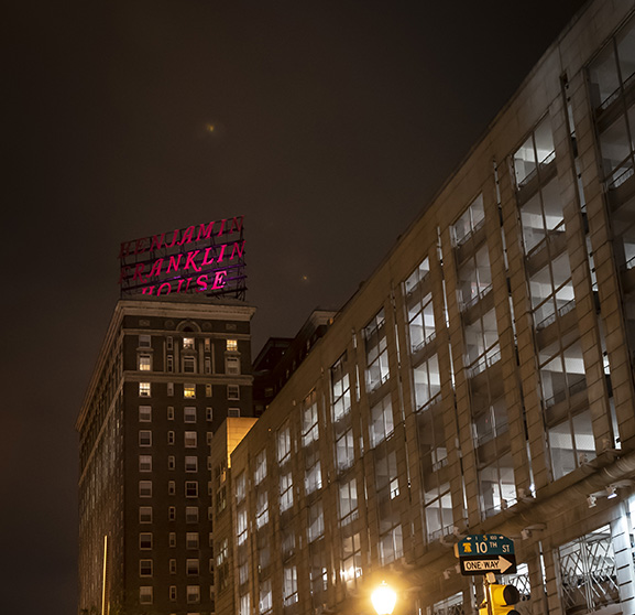 The Franklin Residences Goes Pink for Lights for the Fight