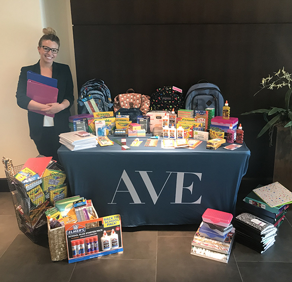 AVE Donates Over 1,000 School Supplies to Boys & Girls Clubs of America