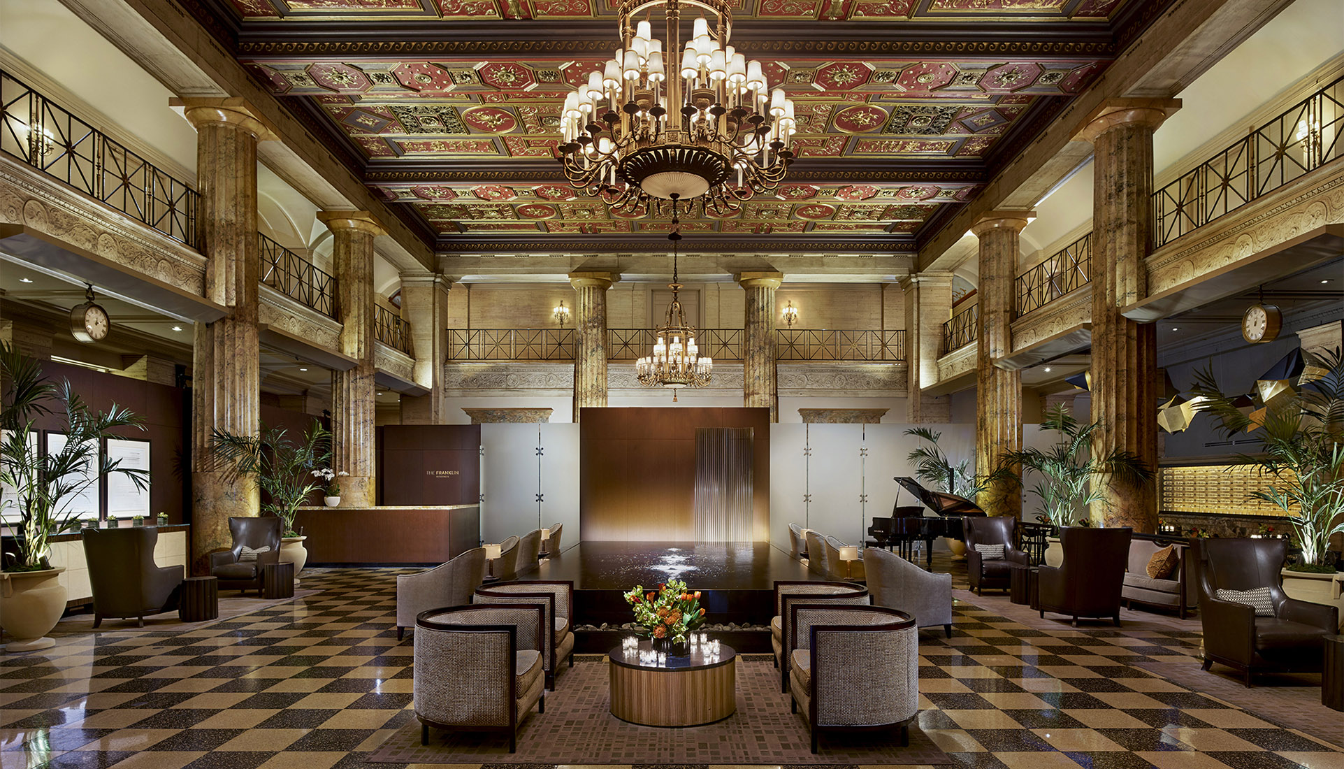 The Franklin Residences Lobby View