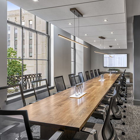 The Franklin Residences Executive Conference Room