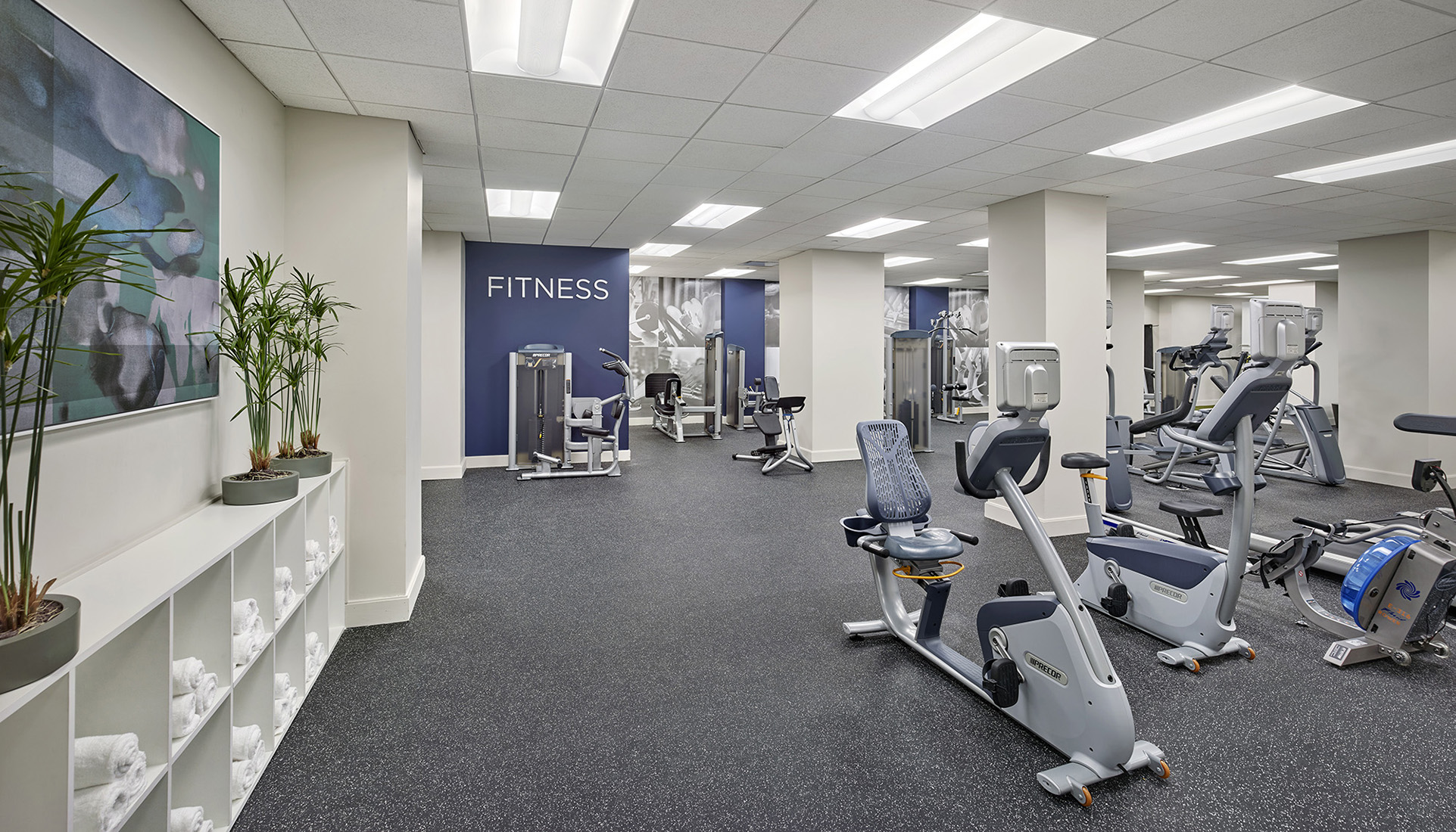 The Franklin Residences Fitness Center