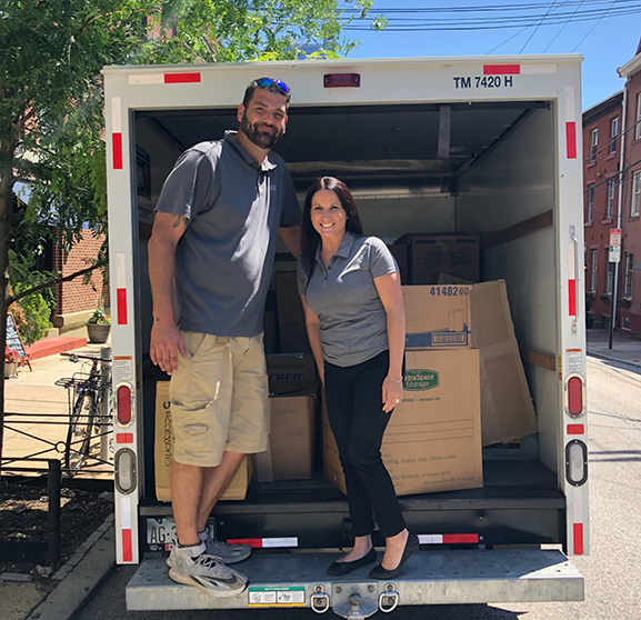 AVE Donates Over 1,200 Articles of Professional Clothing to Career Wardrobe